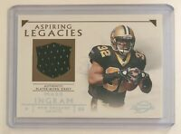 Mark Ingram 2011 Topps Legends Aspiring Legacies RC Jersey New Orleans Saints