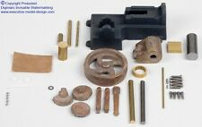 Live Stationary Steam Mill Engine Casting Kit 3BI