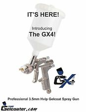 The Gelcoater GX4 HVLP Gelcoat and Resin Spray Gun with 3.5mm Nozzle ESG660