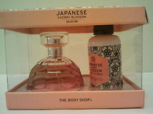 The Body Shop Japanese Cherry Blossom  Collection Gift Set 2 PCS Women Fragranc