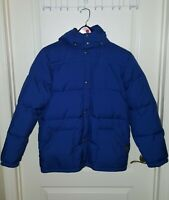 RALPH LAUREN POLO Boys Jacket Kids Down Puffer Coat Size XL 18 20  Blue Hooded