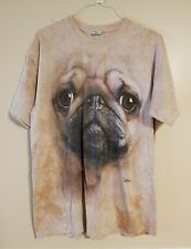 Quail Hollow Pug Dog Face Graphic T-shirt Men's XL - The Mountain