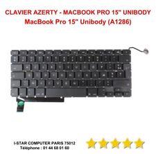 """Clavier Azerty MacBook Pro 15"""" Unibody A1286 NEUF"""