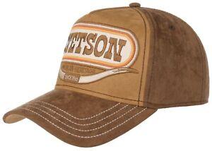 STETSON Trucker Cap Baseball Snap Cap Buffalo Horn 76 New Trend