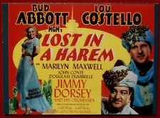 ABBOTT & COSTELLO - Card #35 - LOST IN A HAREM - DuoCards - 1996