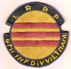 WARTIME US ARMY LRRP 4TH ID PATCH (926)