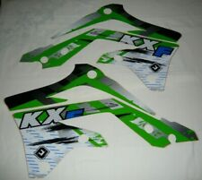 KAWASAKI KXF 450 GRAPHICS RADIATOR SCOOP STICKERS KX450F 2012 2013 2014 2015