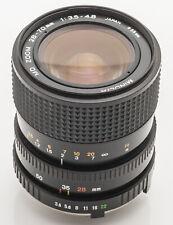 Minolta MD Zoom Macro 28-70mm 28-70 mm 1:3.5-4.8 3.5-4.8 -- Minolta MD