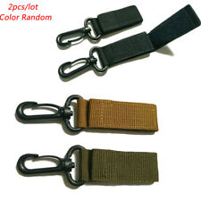 Hot Tactical Molle Hanging Belt Carabiner KeyHook Webbing Buckle Strap Clip
