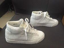 Nike Wmns Blazer High White/White-Pinenut 315905 111 US Sz 7.5 EU 38.5 - EUC