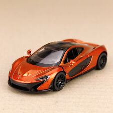 2013 P1 McLaren Hybrid Supercar Toffee Metallic 1:36 Scale Die-Cast Pull-Back