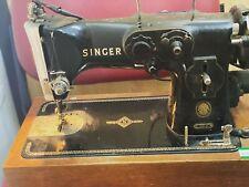New Listingvintage portable singer sewing machine