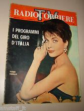 RADIOCORRIERE TV=1961/20=YVONNE FURNEAUX=ANNA MARIA DI GIORGIO=GAMBINERI=