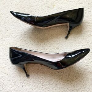 Very Worn Miu Miu Patent Leather Pumps 39