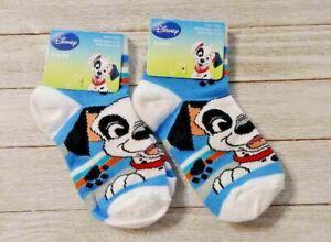 101 Dalmatians socks 2 pair boy's size 4-5.5