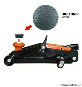 1 Rubber Jack Pad for the Halfords 2 Tonne Hydraulic Trolley Jack 657081 TH22005
