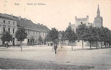 Peitz Brandenburg Markt mit Rathaus