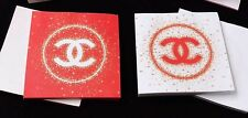 Chanel CC Memo Pad notes x 2 packs