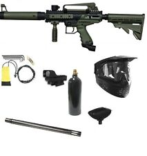 "OLIVE Tippmann Cronus Tactical Extreme Paintball Gun PACK 14"" Sniper Barrel NEW"
