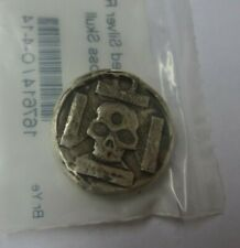 1 oz Silver Hand-Poured Iron Cross Skull (APMEX Sealed)