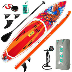 Funwater 350x84x15cm Stand Up Paddle Board, Aufblasbare Paddle Board, SUP Board