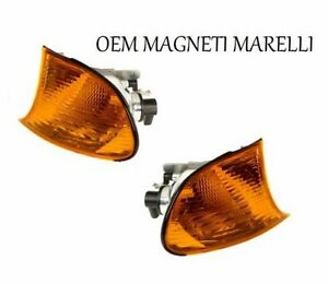 For BMW E46 323Ci Set Of Left & Right Turn Signal Assembly OEM Magneti Marelli