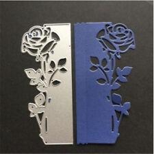 Stanzschablone Blume Rose Weihnachten Hochzeit Oster Einladung Karte Album Deko