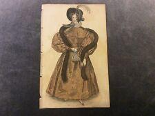 Antique Fashion Print - Walking Dress - 1833