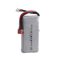 7.4V 2S 2700mAh 20C LiPO Battery T plug for WL 1/12th 12428 RC Racing Truggy