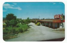 Coeur d' Alene, Idaho, Early View of The Hacienda Motel