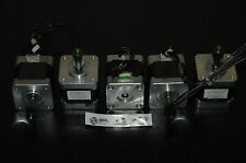 PACK / LOTE  5 X MOTOR  PASO A PASO  MINEBEA NEMA 17 3D , CNC , REPRAP ROBOT...