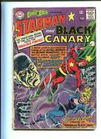 Brave and the Bold 61 GD+ Starman Black Canary (1955) Dc Comics  *CBX1T