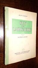 GUY DE LARIGAUDIE - Routier de légende - Jean Vaulon 1946 - b - Scouts