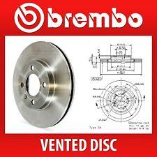 Brembo Front Pair Vented Brake Discs 09.9544.10 - Fits HONDA