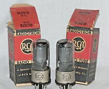 2 NIB RCA 6SJ7GT Tubes (USA)