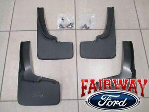 19 thru 21 Ranger OEM Genuine Ford Black Splash Guards Mud Flaps Set of 4