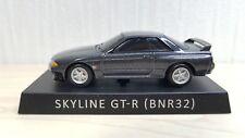 1/72 UCC NISSAN SKYLINE GT-R R32 Gun Gray diecast car pullback model