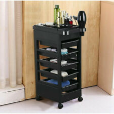 5 Drawer Beauty Salon Spa Styling Station Trolley Equipment Rolling Storage Tray