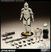 1/6 Sixth Scale Star Wars Clone Trooper Deluxe 'Shiny' Sideshow Collectibles