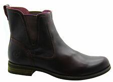 Timberland 100% Leather Slip On Boots for Women