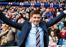 Steven Gerrard Rangers New Manager POSTER