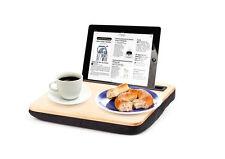 IBED lap desk para tablets-acolchada encimera, para cama y sofá, madera