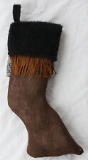 Christmas Horse Stocking - Perfect Gift for the Horse Lover - Horse Leg Shape !
