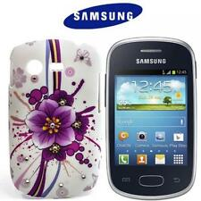 Butterfly Case Handy Cover Schutz Hülle Samsung Galaxy Star S5280 Strass M371