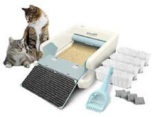 NO TAX! NEW Littermaid LM980 Mega Self-Cleaning Litter Box Automatic Multi Cat