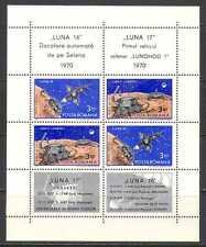 Romania 1971 Luna 16-17/Space/Moon Rover 4v m/s n23319
