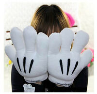 New Kids Disney Mickey Minnie Mouse Costume Cosplay Plush Big Hands Gloves #N2