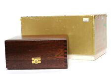 Empty Box & Wood Presentation Case for Leica M4-2 24K Gold 100 Year Edition Came