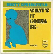 DUSTY SPRINGFIELD  Northern 45  What's It Gonna Be  w/picture sleeve - NM