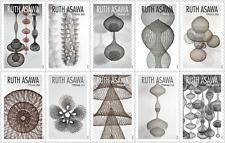 USA Sc. NEW (55c) Ruth Asawa 2020 MNH block of 10